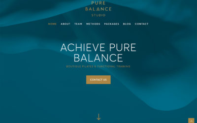 Welcome to Pure Balance Studio